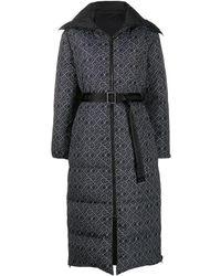 Karl Lagerfeld Logo-print Padded Jacket - Black