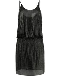 Paco Rabanne - Fitted Vest Dress - Lyst