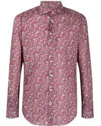 Etro Hemd mit Paisley-Print - Rot
