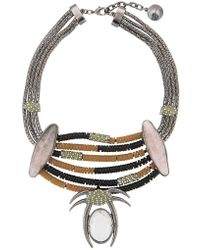 Camila Klein - Appliqué Necklace - Lyst