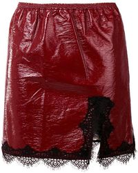 Giamba - Fitted Skirt - Lyst