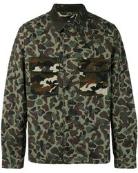 PS by Paul Smith - Printed Button Down Shirt - Lyst