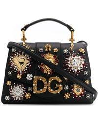 Dolce & Gabbana Dg Amore Draagtas - Zwart