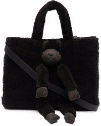 Doublet Alpaca Wool Bag - Brown