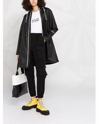 Calvin Klein Плащ С Нашивкой-логотипом - Черный