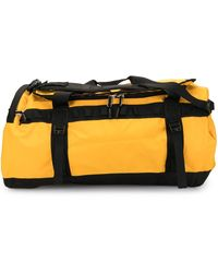 The North Face Base Camp 50l Duffle Bag - Yellow