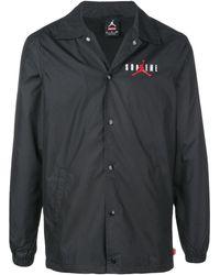 Supreme Jordan Coaches Jacket - Black