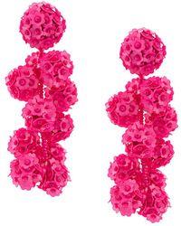 Sachin & Babi - Fleur Coconuts Clip-on Earrings - Lyst
