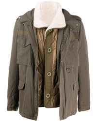 Army by Yves Salomon Lightweight Utility Jacket - Green