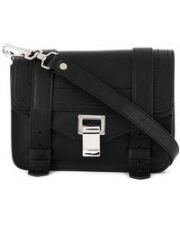 Proenza Schouler Mini Ps1 Crossbody Bag - Black