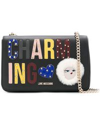 Love Moschino - Charming Shoulder Bag - Lyst