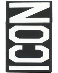 DSquared² Caja para cigarrillos Icon - Negro