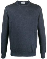Cruciani スリムフィット セーター - ブルー