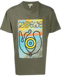 Loewe Eln Tシャツ - グリーン