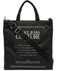 Versace Jeans Couture Etichetta トートバッグ - ブラック