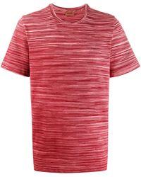 Missoni ストライプ ニットtシャツ - レッド