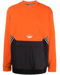 adidas Толстовка С Логотипом - Оранжевый