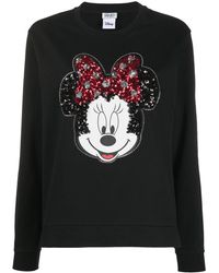 Liu Jo Embellished Minnie Mouse T-shirt - Black