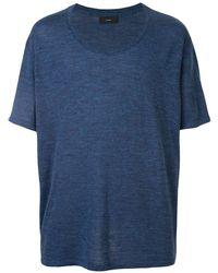 Alanui Lightweight T-shirt - Blue