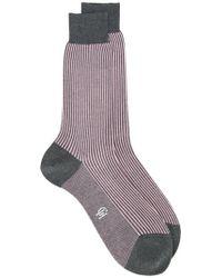 Gieves & Hawkes - Striped Socks - Lyst