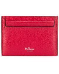 Mulberry Картхолдер Continental - Красный