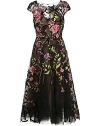 Marchesa - フローラル ドレス - Lyst