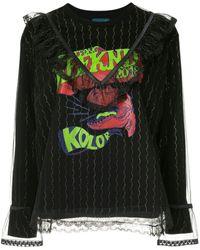 Kolor - Lace Layer Sweatshirt - Lyst