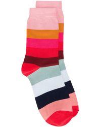 Paul Smith Носки В Полоску - Многоцветный