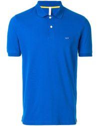 Sun 68 - Short Sleeved Polo Shirt - Lyst