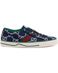 Gucci Tennis 1997 Low-top Sneakers - Blauw