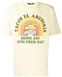 Junya Watanabe Camiseta con estampado Tacos - Amarillo