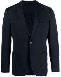 Tonello Einreihiger Anzug - Blau