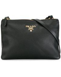 Prada - - Zipped Crossbody Bag - Women - Leather - One Size - Lyst