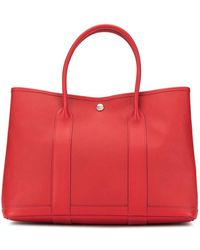 Hermès Сумка-тоут Garden Party Pre-owned - Красный