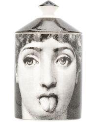 Fornasetti Profumi Antipatico Scented Candle (300g) - Black