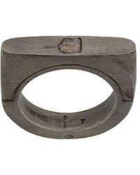 Parts Of 4 Ring - Metallic