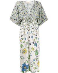 Tory Burch Printed Beach Coverup Midi Dress - Multicolour