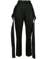 Maticevski Stride Pencil Pants - Black