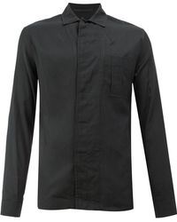 Haider Ackermann - Collarless Shirt - Lyst