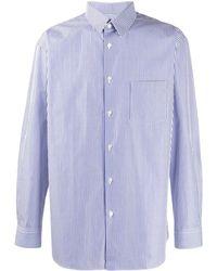Comme des Garçons - Striped Tailored Shirt - Lyst