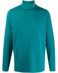 Fila Sweat à capuche à col zippé - Bleu