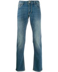 Emporio Armani Jeans slim - Blu