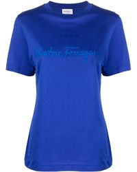 Ferragamo - ロゴ Tシャツ - Lyst