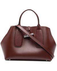 Longchamp Roseau ハンドバッグ - ブラウン