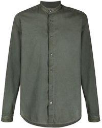 Boglioli Клетчатая Рубашка - Зеленый