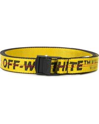 Off-White c/o Virgil Abloh Ремень Industrial - Желтый