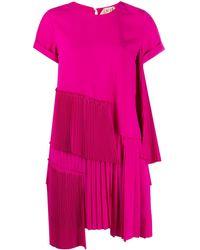 N°21 ティアード ミニドレス - ピンク