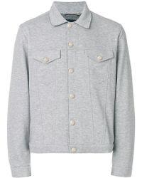 Jacob Cohen - Button Shirt Jacket - Lyst