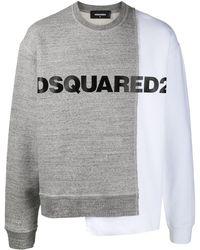 DSquared² Толстовка С Логотипом - Серый