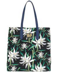 Diane von Furstenberg   Oriental Floral Tote Bag   Lyst